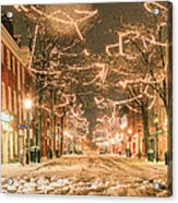 King Street Acrylic Print by JC Findley