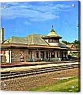 Kirkwood Station Acrylic Print by Marty Koch