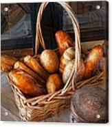 Kitchen - Food - Bread - Fresh Bread  Acrylic Print by Mike Savad