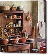 Kitchen - For The Master Chef  Acrylic Print by Mike Savad
