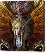 Kitchen Goddess Acrylic Print by Larry Butterworth