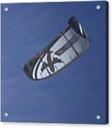 Kite Surfing 2 Acrylic Print by Heather L Wright