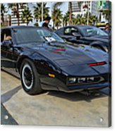 Kitt Acrylic Print by Tommy Anderson