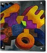 Kivi Pampa Apu Acrylic Print by Fernando  Ocampo Sandy