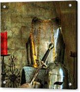 Knight - A Warriors Tribute  Acrylic Print by Paul Ward