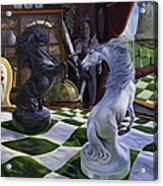 Knight's Magic Acrylic Print by Jeanne Newton Schoborg