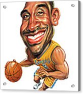 Kobe Bryant Acrylic Print by Art