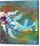 Koi Fantasy Acrylic Print by Robert Jensen