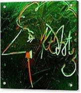 Kurt Vonnegut Acrylic Print by Michael Kulick