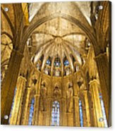 La Catedral Barcelona Cathedral Acrylic Print by Matthias Hauser