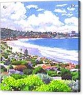 La Jolla California Acrylic Print by Mary Helmreich