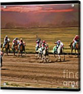 Ladies World Chapionship Ladies Cup Missing One Lady Acrylic Print by Blake Richards
