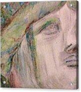 Lady Liberty Acrylic Print by Christy Saunders Church