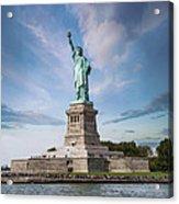 Lady Liberty Acrylic Print by Juli Scalzi