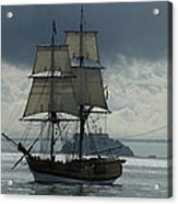 Lady Washington Acrylic Print by Sabine Stetson