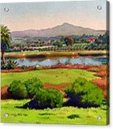 Lago Lindo Rancho Santa Fe Acrylic Print by Mary Helmreich