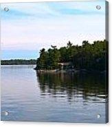 Lake Champlain 10 Acrylic Print by Sarah Holenstein