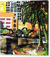 Lake Eola - Part 3 Of 3 Acrylic Print by Everett Spruill