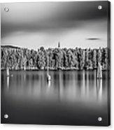Lake Oyeren Acrylic Print by Erik Brede