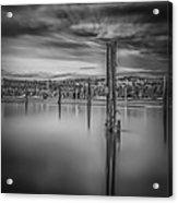 Lake Oyeren II Acrylic Print by Erik Brede