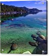 Lake Tahoe Waterscape Acrylic Print by Scott McGuire