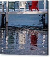 Lakeside Living Number 2 Acrylic Print by Steve Gadomski