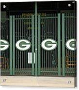 Lambeau Field - Green Bay Packers Acrylic Print by Frank Romeo