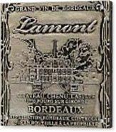 Lamont Grand Vin De Bordeaux  Acrylic Print by Jon Neidert