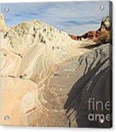 Landscape Swirls Acrylic Print by Adam Jewell