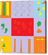 Larnaca Shop Window 9 Acrylic Print by Anita Dale Livaditis