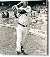 Larry Doby Acrylic Print by Retro Images Archive