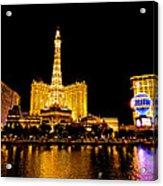 Las Vegas 012 Acrylic Print by Lance Vaughn