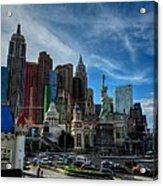 Las Vegas 051 Acrylic Print by Lance Vaughn
