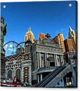 Las Vegas 068 Acrylic Print by Lance Vaughn