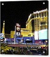 Las Vegas - Planet Hollywood Casino - 12124 Acrylic Print by DC Photographer