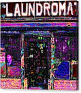 Laundromat 20130731 Acrylic Print by Wingsdomain Art and Photography