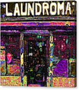 Laundromat 20130731p45 Acrylic Print by Wingsdomain Art and Photography