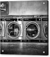 Laundromat Art Acrylic Print by Bob Orsillo