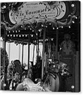 Le Carrousel Acrylic Print by David Rucker