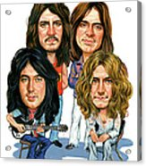 Led Zeppelin Acrylic Print by Art