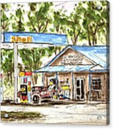 Leipers Fork Market Acrylic Print by Tim Ross