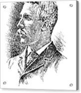 Leonard Wood (1860-1927) Acrylic Print by Granger