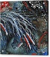 Let Freedom Run Majestic Series #71 Acrylic Print by AmyLyn Bihrle