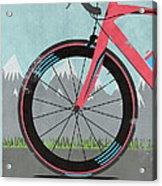 L'etape Du Tour Bike Acrylic Print by Andy Scullion