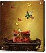 Liberation - Tibetan Dream Acrylic Print by Lori  McNee