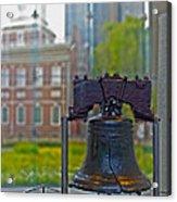 Liberty Bell Acrylic Print by Tom Gari Gallery-Three-Photography