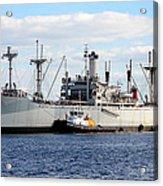 Liberty Ship  Acrylic Print by David Lee Thompson