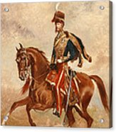 Lieutenant Colonel James Thomas Brudenell  Acrylic Print by Alfred de Prades
