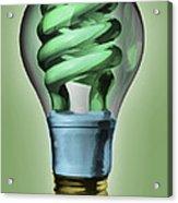 Light Bulb Acrylic Print by Bob Orsillo
