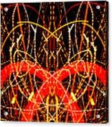 Light Fantastic 17 Acrylic Print by Natalie Kinnear